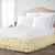 1000TC Ivory Multi Ruffled Bed Skirt