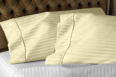Cozy Ivory Stripe pillowcovers