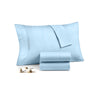 Classy Light blue Pillowcases 100% Egyptian Cotton Made