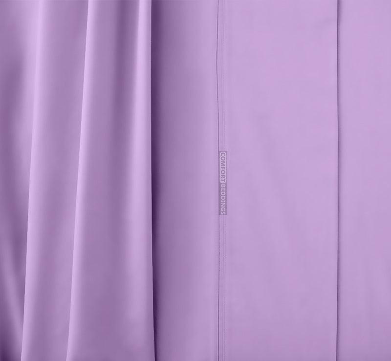 Soft Egyptian Lilac Waterbed Sheets