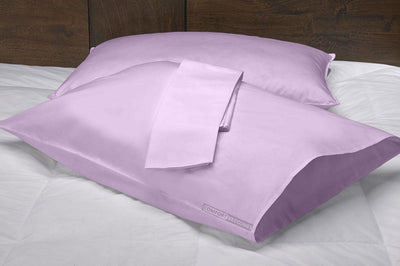 Soft Luxurious lilac pillow cases