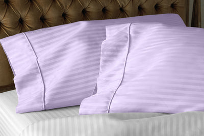 Top Quality Lilac Striped pillow covers