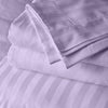 Top Quality Lilac stripe body pillow cover