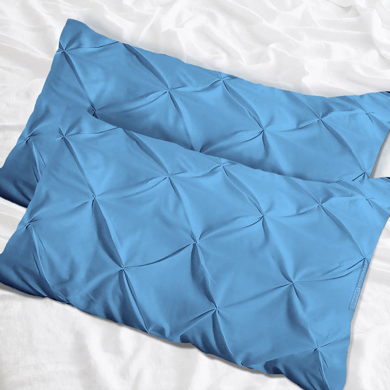 Luxurious Mediterranean Pinch Pillow Cases