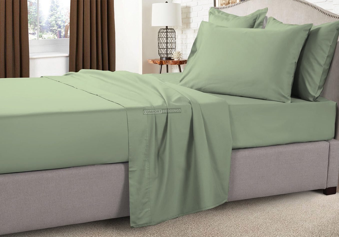 Soft and Hypoallergenic Moss RV Sheet Set