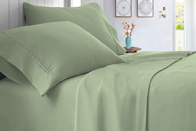 Top Quality Moss Bed Sheet Set