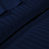 Egyptian Cotton Navy blue striped Fitted Sheets