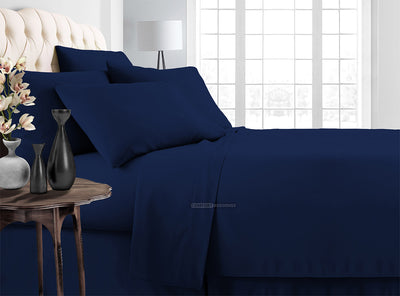 Top Selling navy blue Bedding In a Bag