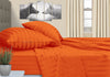 Egyptian Cotton Orange Stripe RV Sheet Set