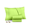 Cozy Parrot green pillowcases