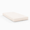 Luxurious Peach Fitted Crib Sheets - 600TC