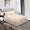 100% Egyptian Cotton Peach Fitted Sheet