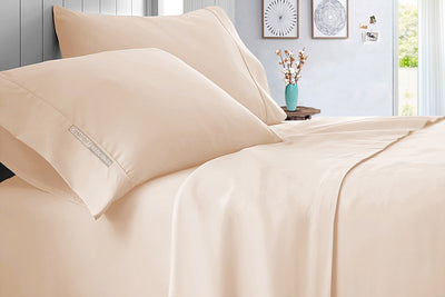 Top Quality Peach Bed Sheet Set