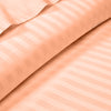 Peach Striped Duvet Cover Set - 600TC