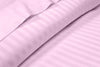 Striped Pink Split Bed Sheets Set