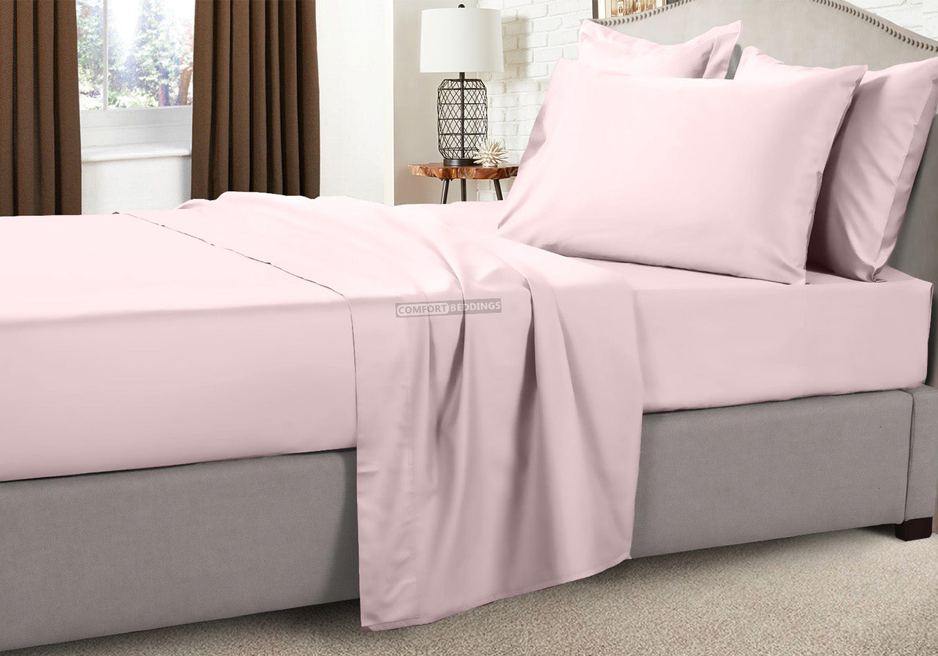600 TC Pink Rv Sheets