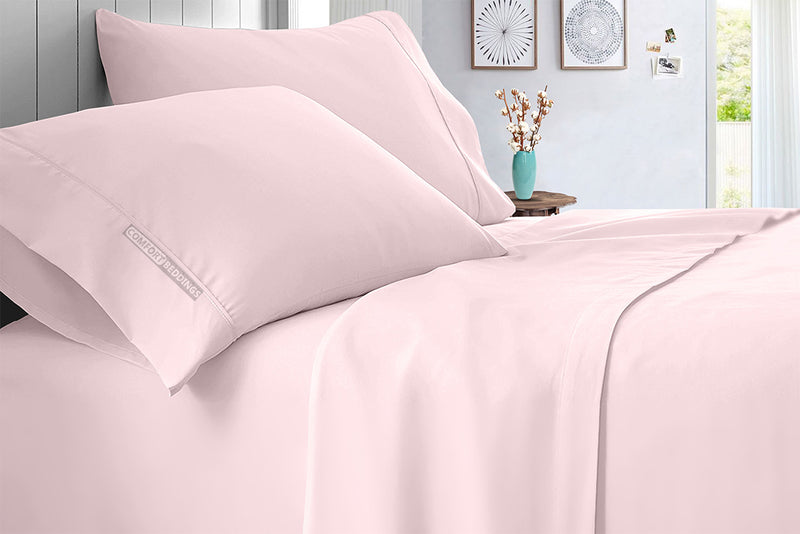 Luxurious 600 TC Pink Sheet Set