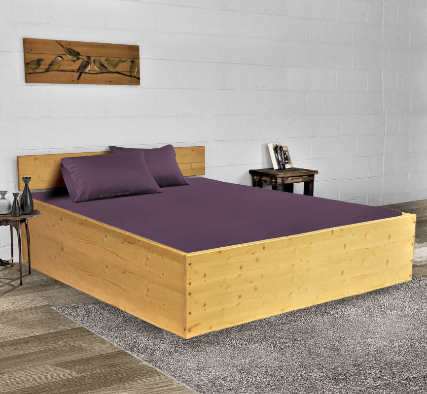 Classy Plum Waterbed Sheets