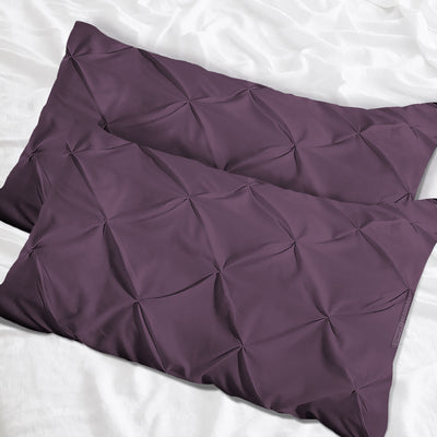 Top quality Plum pinch pillow cases
