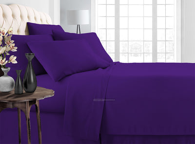 Classy Purple Bedding In a Bag Set