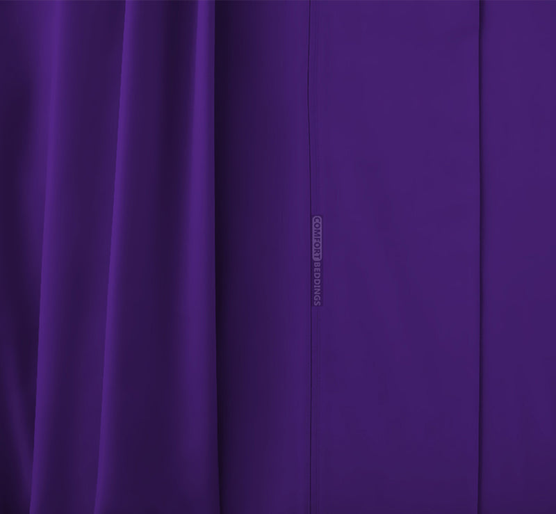 Cozy Purple Waterbed Sheets