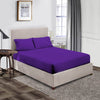 Classy Purple Fitted Sheet - 600 Thread Count