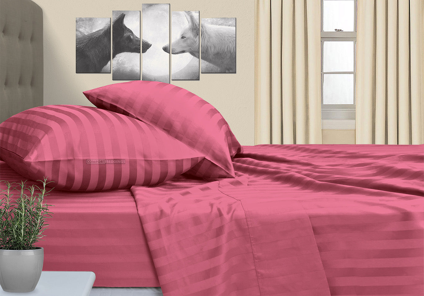Top Quality Roseberry Stripe RV Sheet Set