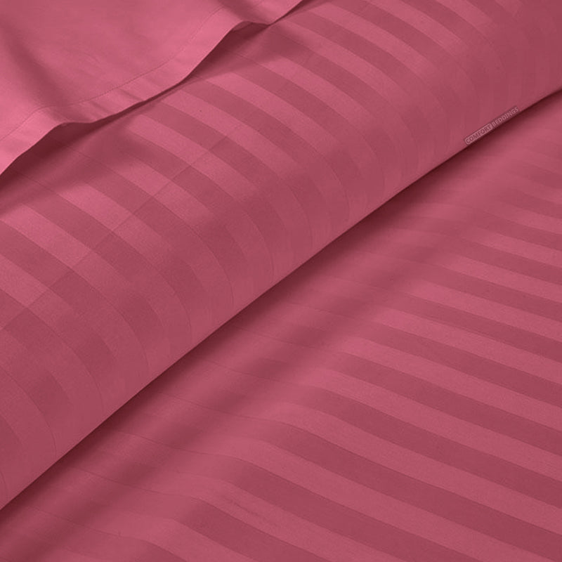 Luxury Roseberry Stripe Duvet Cover