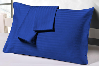 Best Quality Royal Blue stripe pillowcases