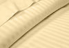 Luxurious Rust Striped RV Sheet Set