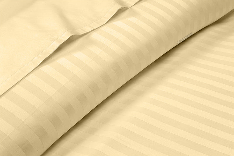 Brand New Rust Striped Sheet Set