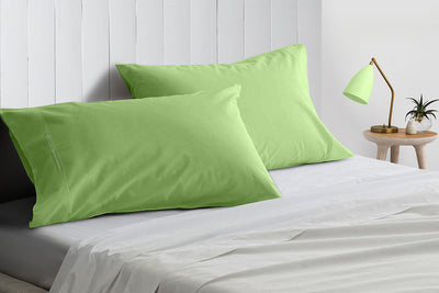 Luxury Sage pillowcases 100% Egyptian Cotton Made