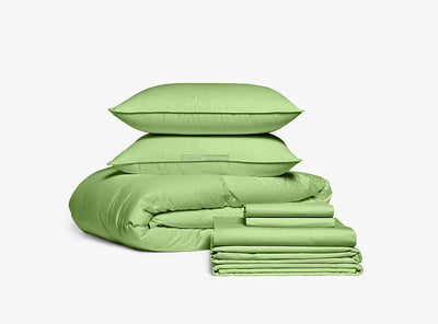 Luxury Sage Bedding In a Bag Set