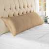 Classy soft taupe body pillow case