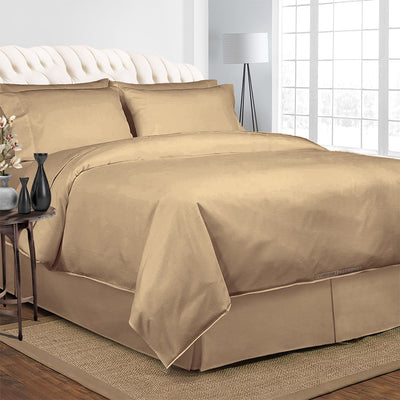 1000TC Taupe Luxury Bedding In a Bag