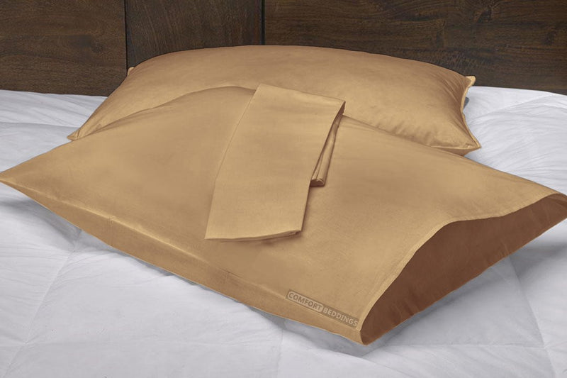 100% Egyptian cotton Taupe Pillow Cases