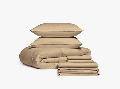 Taupe Bed in a Bag Set