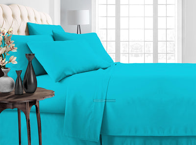 Comphy Turquoise Bedding In a Bag Set
