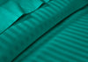 Elegant Turquoise Green Stripe RV Sheet Set