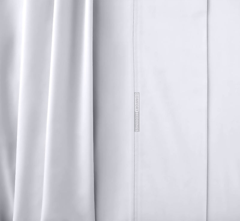 Luxury 1000TC White Waterbed Sheets