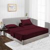 Luxury Wine split head sheets Set - 600TC