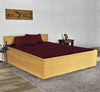 Beautiful Wine Waterbed Sheets