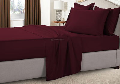 Classy Wine Rv King Sheets