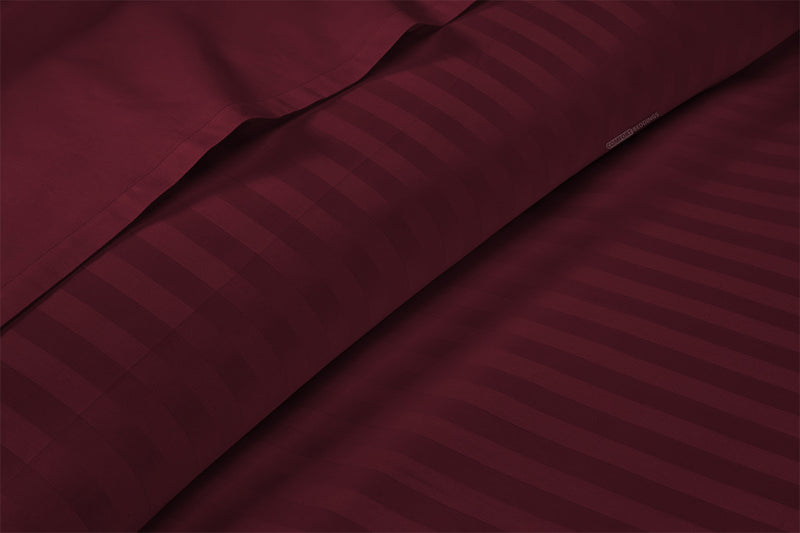 Top Rated Wine Stripe Sheet Set