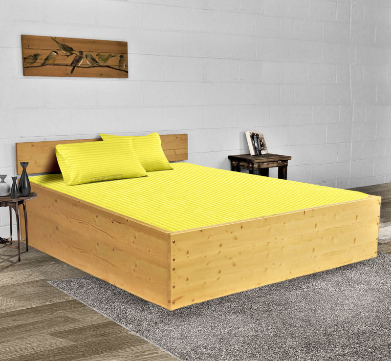 Most Selling Yellow Stripe Waterbed Sheets