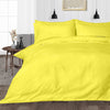Luxury Yellow Stripe Duvet Cover - 600TC