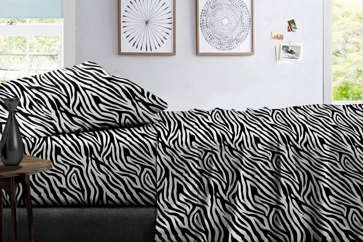 High Quality 800 TC Zebra print Sheet Set