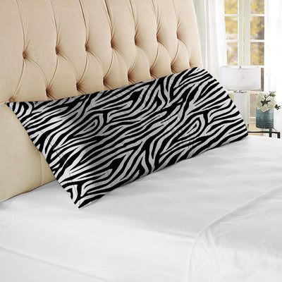 Top Quality Zebra print body pillow cover