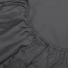 Egyptian Cotton Dark Gray Fitted Sheets