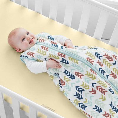 100% Egyptian Cotton Ivory Crib Fitted Sheets